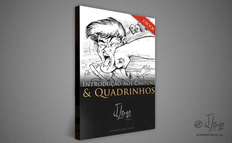 capa Ebook introducao aos Cartuns & Quadrinhos